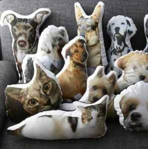 Photo Pillow of Your Dog