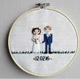 Custom Wedding Embroidery